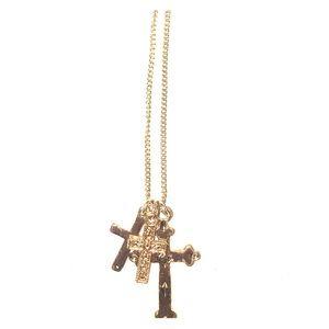 Brandy Melville cross necklace